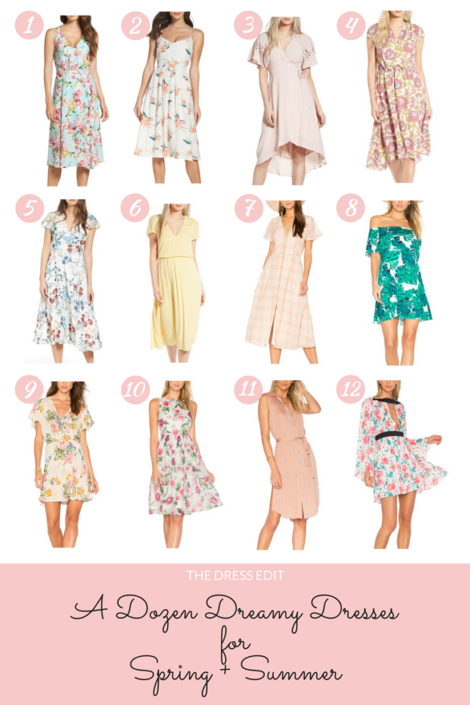 Style blogger, Leigha Gardner, sharing a dozen summer dresses for the warm weather months ahead.