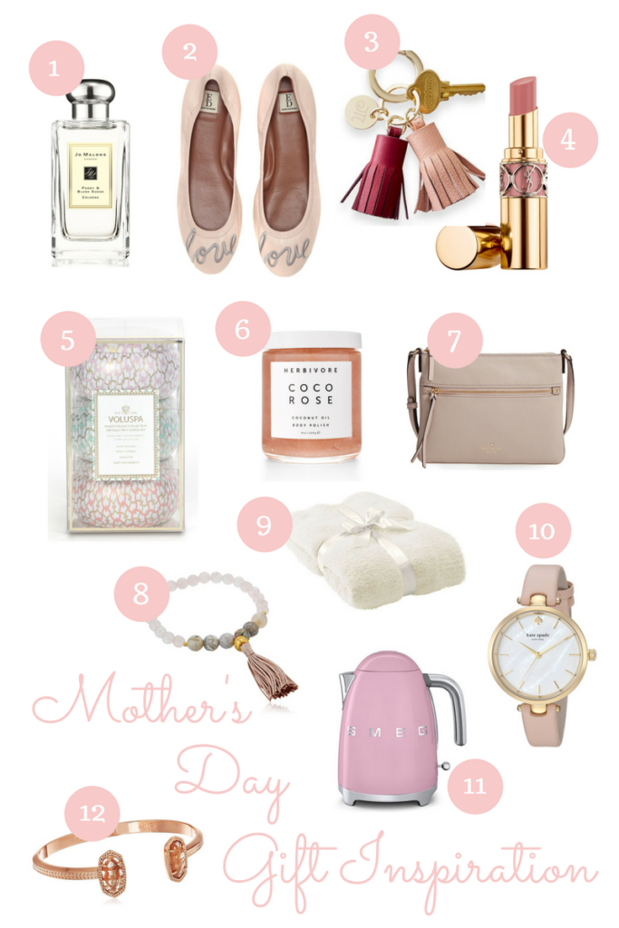 Lifestyle blogger, Leigha Gardner, of The Lilac Press rounding up the best gifts for Mother's Day this year.
