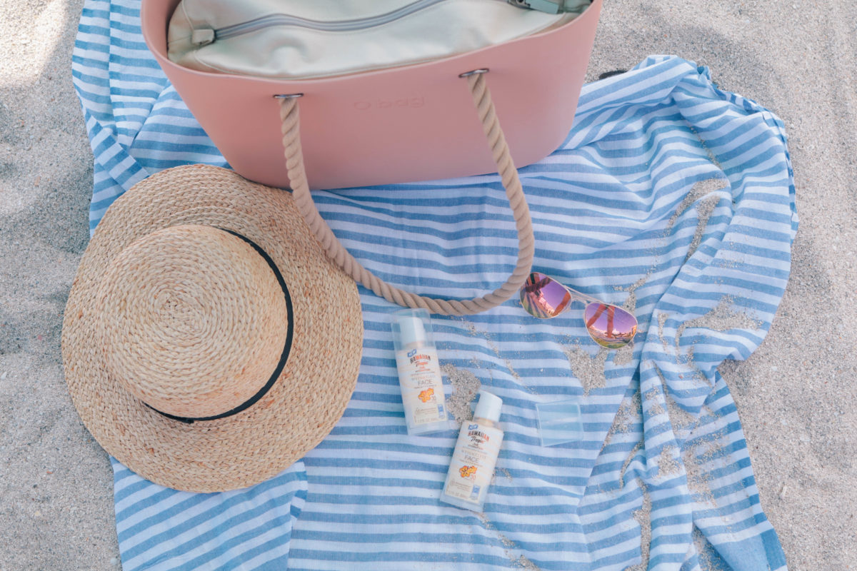 Style and beauty blogger, Leigha Gardner, of The Lilac Press shares a favorite sunscreen by Hawaiian Tropic for days in the sun in South Beach, Miami.