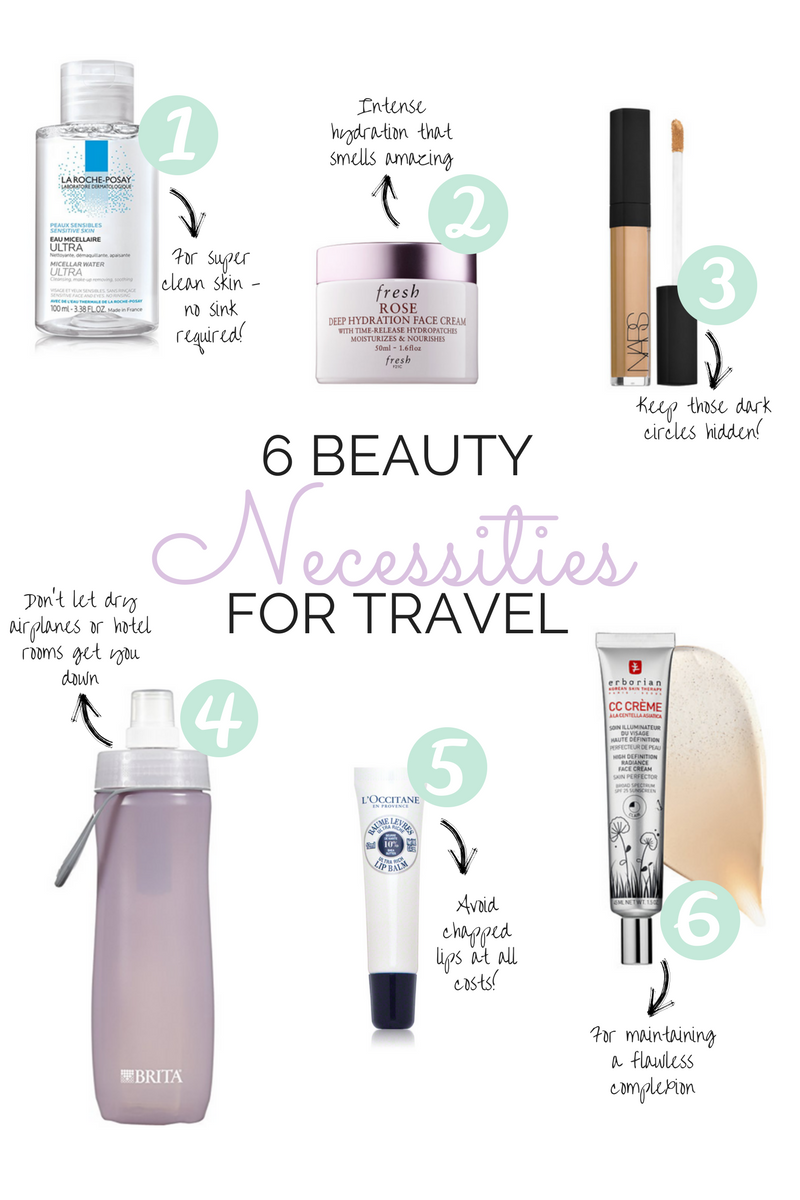 Beauty blogger, Leigha Gardner, of The Lilac Press on 6 skincare travel products necessary for any trip