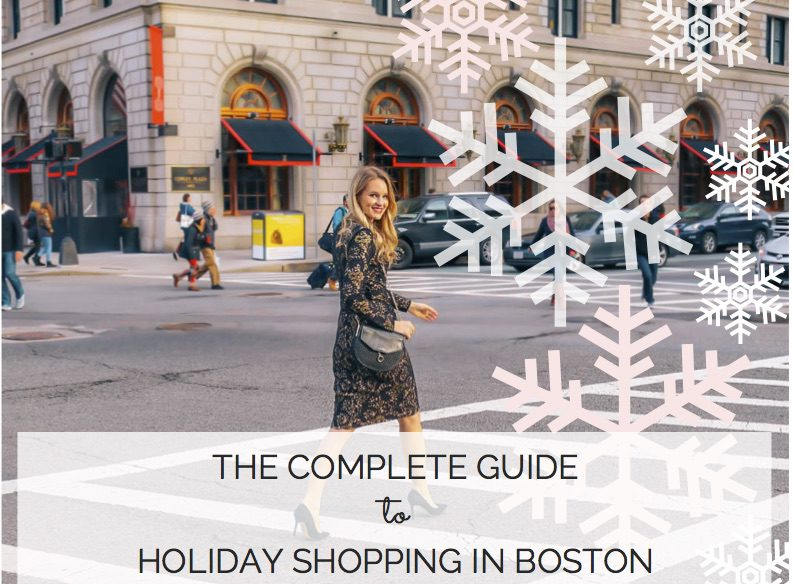 The complete guide to holiday shopping in Boston