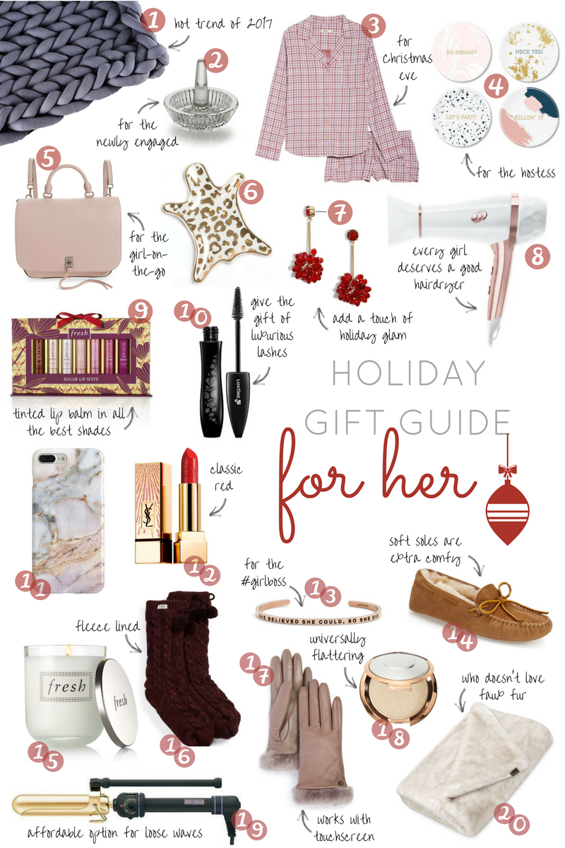 Leigha Gardner's  holiday gift guide for all the fabulous women in your life.